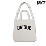 [orisue] 오리수 에코백  b933 cotton Ivory-airch