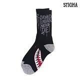 STIGMA - SPITFIRE SKATE SOCKS_BLACK