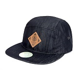 [업프론트]UPPRONT - OFF FIVE 5-Panel Cap (Black) 캠프캡