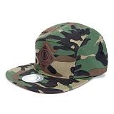 [업프론트]UPPRONT - MOVE UPFRONT 5-Panel Cap (Camouflage) 캠프캡