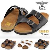 [보이런던]boylondon-J345 다이버 아리조나 슬리퍼(블랙)-남녀공용 커플 버켄 남자 여자 슬리퍼 조리 샌달 여름 신발