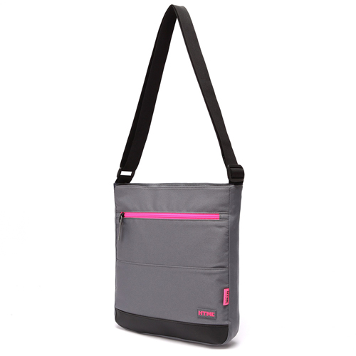 [에이치티엠엘]HTML-NEW T5 Crossbag (M.GRAY/HOT PINK)_크로스백
