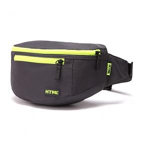[에이치티엠엘]HTML - I3 Hip sack (DK.GRAY/YELLOW) 힙색 웨이스트백