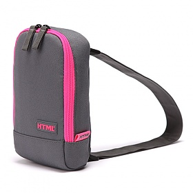 [에이치티엠엘]HTML - T2 Slingbag (M.GRAY/HOT PINK) 슬링백