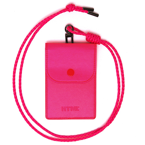 [에이치티엠엘]HTML- Classic Card Holder.H (PINK)