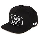 [앱놀머씽] Nashville Snapback (Black) 스냅백