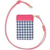 [피스메이커]PIECE MAKER - NO.15 GINGHAM CHECK CARD HOLDER (SEABLUE)