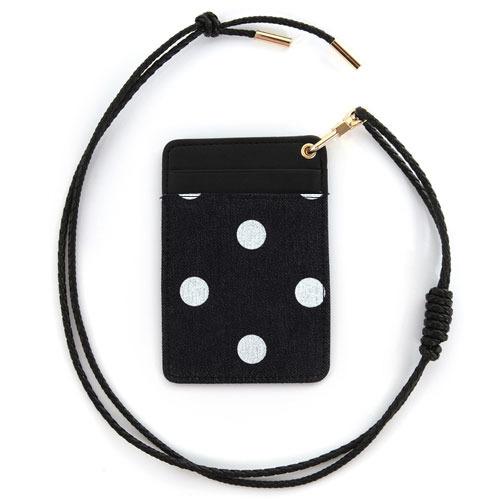 [피스메이커]PIECE MAKER - NO.19 MULTIDOT CARD HOLDER (BLACK)
