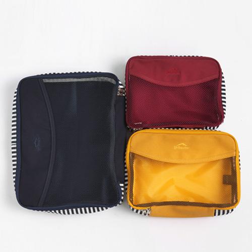 [옐로우스톤] 여행용 수납백 traveling canvas bag - ys2013 3set