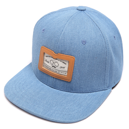 [로디스]LODIS - DENIM SNAPBACK - LIGHT BLUE