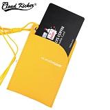 [클라우드키커] CLOUD KICKER ROUND CARD CASE (YELLOW)_카드지갑_카드홀더