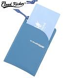 [클라우드키커] CLOUD KICKER ROUND CARD CASE (BLUE)_카드지갑_카드홀더