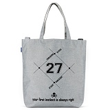 [핍스] PEEPS 27 printing crossbag(light gray)_크로스백_토트백