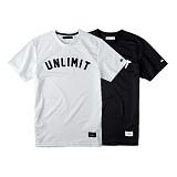 [언리미트]Unlimit - Mesh Logo Tee 반팔 티셔츠