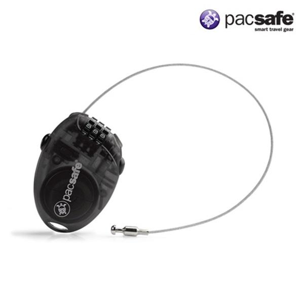 [팩세이프]PACSAFE - Retractasafe 100 Smoke 공식수입정품 (유럽 배낭여행 필수품 소형 와이어락 케이블락 자물쇠)