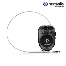 [팩세이프]PACSAFE - Retractasafe 250 Smoke (유럽 배낭여행 필수품 중형 와이어락 케이블락 자물쇠)