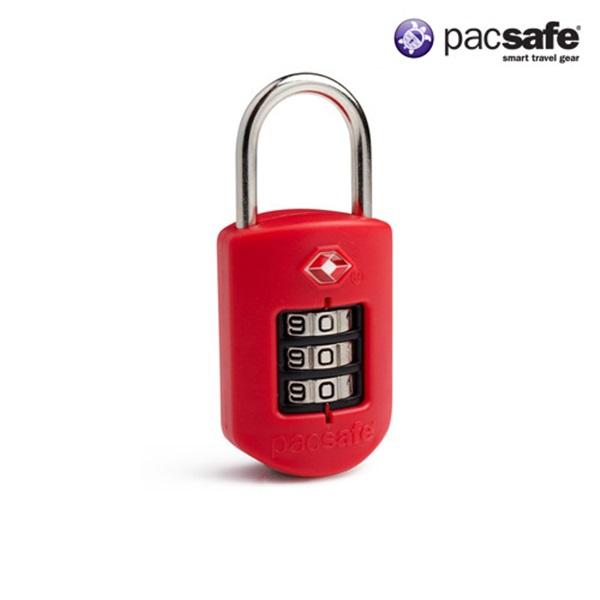 [팩세이프]PACSAFE - Prosafe 1000 Red 공식수입정품 (TSA 미국교통보안국 인증 튼튼한 자물쇠)