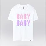 [더셔츠] Baby baby - 남여공용 그래픽 일러스트 반팔티셔츠