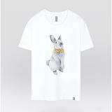 [더셔츠] yellow rabbit - 남여공용 그래픽 일러스트 반팔티셔츠