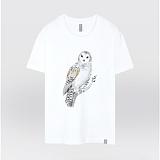 [더셔츠] lime owl - 남여공용 그래픽 일러스트 반팔티셔츠