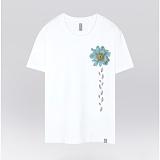 [더셔츠] sky leaf - 남여공용 그래픽 일러스트 반팔티셔츠