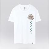 [더셔츠] mono leaf - 남여공용 그래픽 일러스트 반팔티셔츠