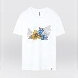 [더셔츠] gradation blue - 남여공용 그래픽 일러스트 반팔티셔츠