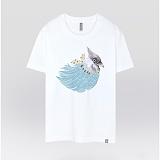 [더셔츠] summer days - 남여공용 그래픽 일러스트 반팔티셔츠