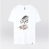 [더셔츠] button bird - 남여공용 그래픽 일러스트 반팔티셔츠