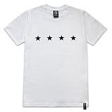 [레이쿠] reiku 4star short-white 반팔티