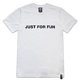 [레이쿠] reiku for fun short-white 반팔티