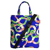 [벨즈] BELZ - SNAKE PATTERN BAG (BLUE)_크로스백