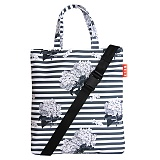[벨즈] BELZ - STRIPE PATTERN BAG (GRAY)_크로스백