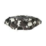 [�θ�ƽũ���]ROMANTIC CROWN - UNION WORLD MAP CAMO WAIST BAG_blk