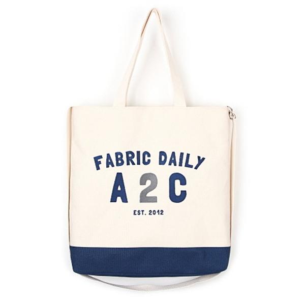 [제너]JENNER - FABRIC DAILY A2C BAG [BLUE] 크로스백 에코백 가방