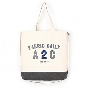 [제너]JENNER - FABRIC DAILY A2C BAG [GRAY] 크로스백 에코백 가방