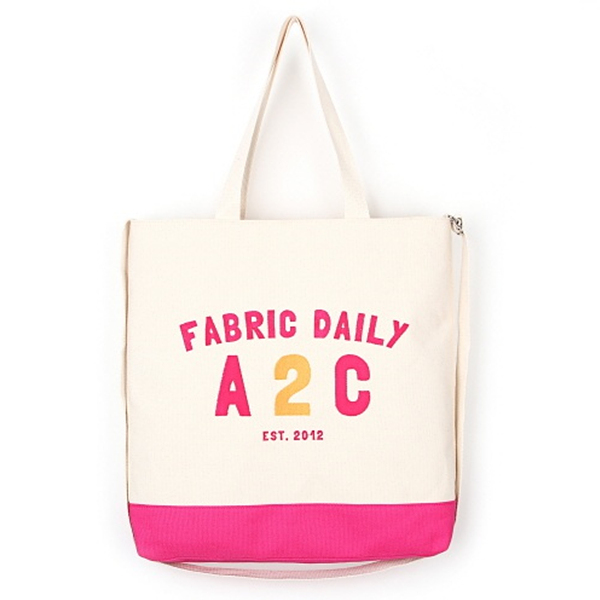 [제너]JENNER - FABRIC DAILY A2C BAG [HOT PINK] 크로스백 에코백 가방
