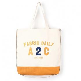 [제너]JENNER - FABRIC DAILY A2C BAG [YELLOW] 크로스백 에코백 가방