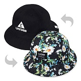 [레이든]LAYDEN - CAMO FLOWER BUCKET HAT-REVERSIBLE_모자_버킷햇_벙거지