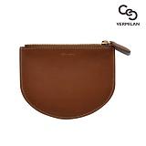 [VERMILAN] 버밀란 주 카드지갑 Leather ZU Card Wallet - brown 지퍼 반지갑