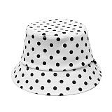 [피스메이커]PIECE MAKER - MONO DOT BUCKET HAT (WHITE) 버켓햇