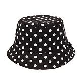 [피스메이커]PIECE MAKER - MONO DOT BUCKET HAT (BLACK) 버켓햇