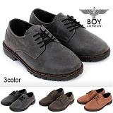[보이런던]BoyLondon - G358 고든 마틴 로퍼(블랙)-무료배송 남성용 캐주얼 남자 신발 가죽