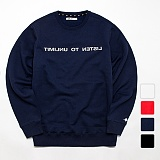 [언리미트]Unlimit - Reverse Crewneck Ver2 기모 맨투맨 크루넥 스��셔츠