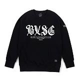 STIGMA - BVSC CREWNECK BLACK_맨투맨_크루넥_기모