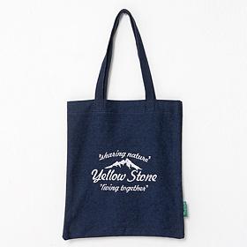 [옐로우스톤] 데님 에코백 denim eco bag - ys2015dn 네이비 폰트 가방 토트백 숄더백