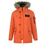 [벨필드]BELLFIELD - TOTTO Padding Parka Jacket (Orange)