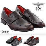 [보이런던]BoyLondon - G381 보이02 클래식 패니 로퍼(브라운)-남성용 캐주얼 남자 구두 신발 정장화