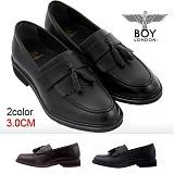 [보이런던]BoyLondon - G387 보이04 클래식 태슬 로퍼(블랙)-무료배송 남성용 캐주얼 남자 구두 신발 정장화