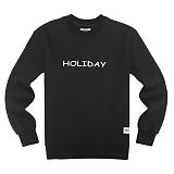 [에이지]AZ - HOLIDAY CREWNECK (BLACK) 크루넥 스��셔츠 맨투맨